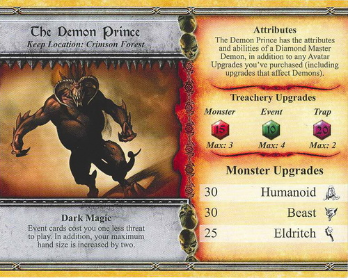 The Demon Prince - Descent: Road to Lengend