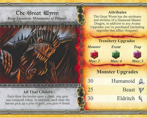 The Great Wyrm - Descent: Road to Lengend